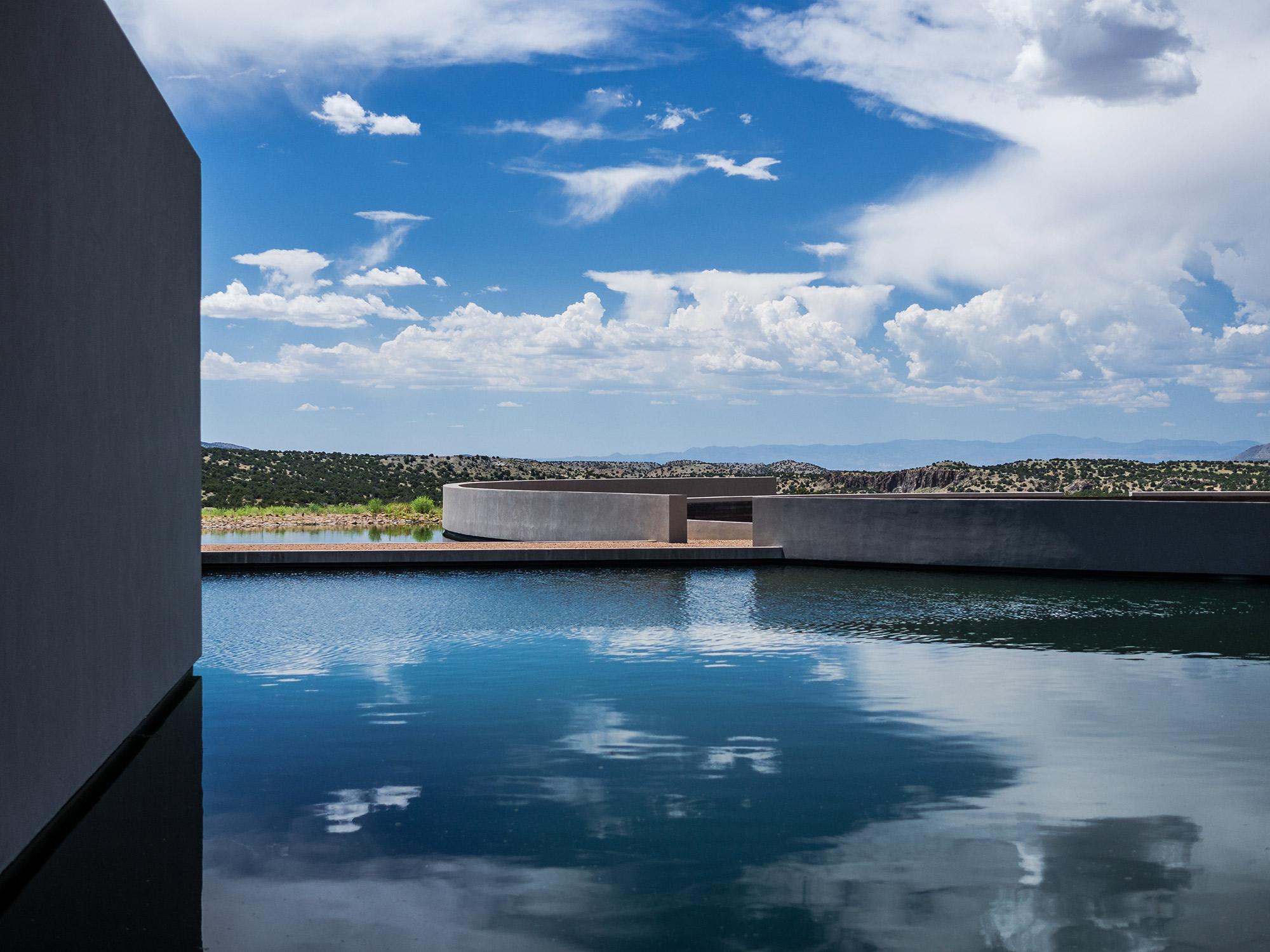 Cerro Pelon Ranch Santa Fe Usa Architect Tadao Ando